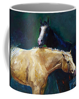 I've Got Your Back Coffee Mug by Frances Marino
