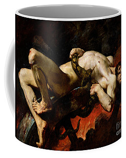 Ixion Thrown Into Hades Coffee Mug