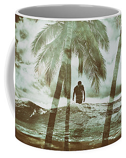 Izzy Jive And Palms Coffee Mug