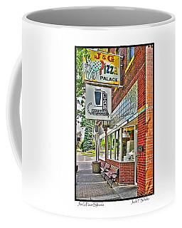J And G Pizza Palace Coffee Mug