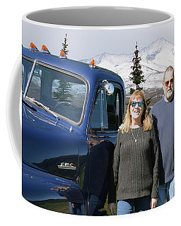 J D Christmas Card Coffee Mug