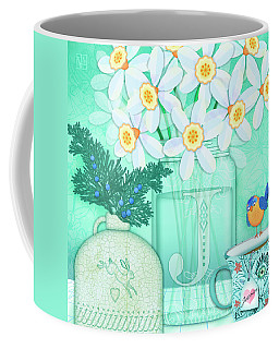 J Is For Jar Of Jonquils Coffee Mug