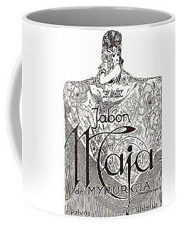 Coffee Mug featuring the digital art Jabon by ReInVintaged