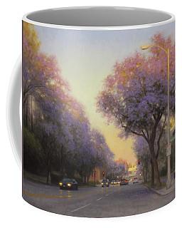 Jacaranda Evening Light Coffee Mug