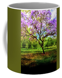 Jacaranda Tree Coffee Mug by Joseph Hollingsworth