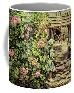 Coffee Mug featuring the photograph Jack And Jill by Elaine Teague
