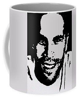 Jack Johnson In My Living Room Coffee Mug by Robert Margetts