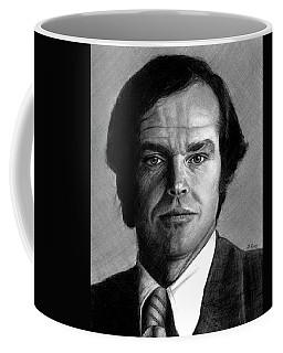 Jack Nicholson Portrait Coffee Mug