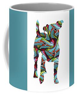 Jack Russel Terrier Spirit Glass Coffee Mug