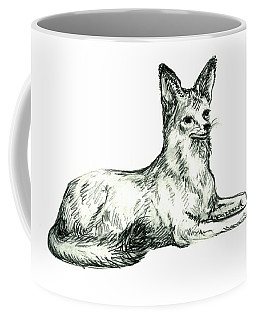 Jackal Sketch Coffee Mug