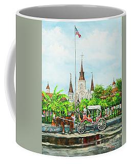 Jackson Square Carriage Coffee Mug
