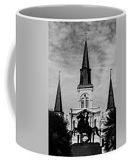 Jackson Square - Monochrome Coffee Mug