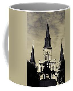 Jackson Square - Split Tone Coffee Mug