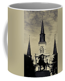 Jackson Square - Split Tone Coffee Mug