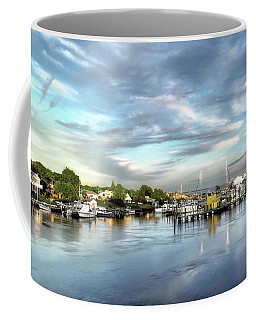 Hampton Bays Marina Coffee Mug
