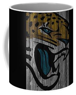Jacksonville Jaguars Wood Fence Coffee Mug
