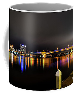 Jacksonville Night Sky Coffee Mug