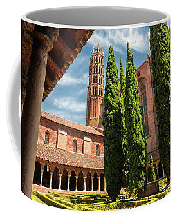 Coffee Mug featuring the photograph Jacobin Convent In Toulouse by Elena Elisseeva