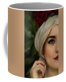 Jade Close Crop Coffee Mug