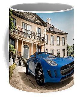 Jaguar F-type - Blue - Villa Coffee Mug
