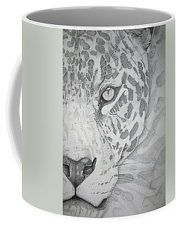 Jaguar Pointillism Coffee Mug