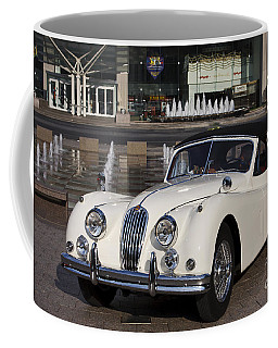 Jaguar Xk 140 Coffee Mug