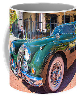 Coffee Mug featuring the photograph Jaguar Xk Classic by Dan McManus