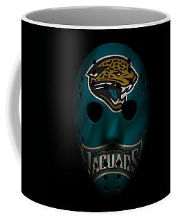 Jaguars War Mask Coffee Mug