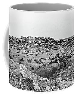 Jaisalmer 2 Bw Coffee Mug