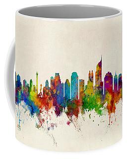 Jakarta Skyline Indonesia Bombay Coffee Mug