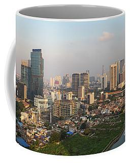 Jakarta Urban Skyline In Indonesia Coffee Mug