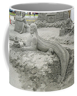 Coffee Mug featuring the photograph Jake The Alligator Man  by Pamela Patch