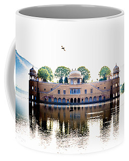 Jal Mahal Water Palace Jaipur India Coffee Mug