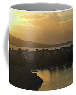 Jamaica Sunset Bay Panorama Coffee Mug