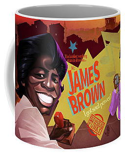 James Brown Coffee Mug