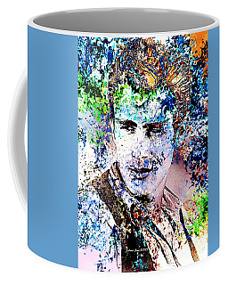 James Dean In Pop Art Coffee Mug