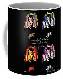James Dean Coffee Mug by Mo T