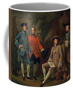 James Grant Of Grant, John Mytton, The Hon. Thomas Robinson, And Thomas Wynne Coffee Mug