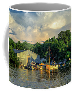 James River Marina Coffee Mug