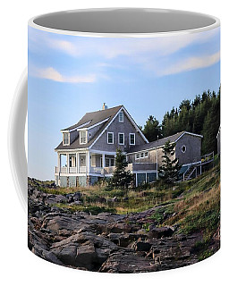Jamie Wyeth's House Coffee Mug by Marcia Lee Jones