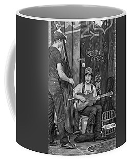 Jammin' In The French Quarter 2 - Paint Bw Coffee Mug