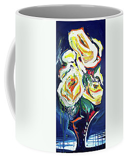 Janes Roses II Coffee Mug by John Jr Gholson