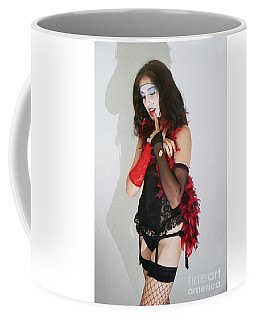 Janet Weiss During A Rhps Performance 2 Coffee Mug