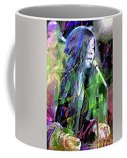 Janis Joplin Blue Coffee Mug
