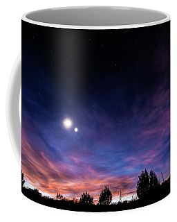 January 31, 2016 Sunset Coffee Mug by Karen Slagle