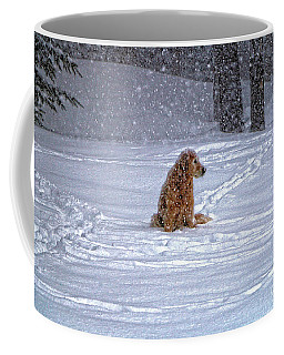 January Blizzard Coffee Mug by Elizabeth Dow