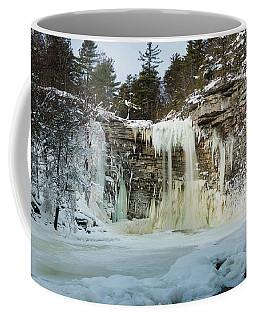 January Morning At Awosting Falls Coffee Mug