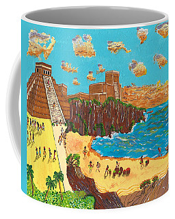 January Pyramid By The Bay Coffee Mug