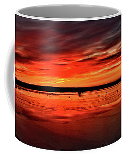 January Sunrise Onset Pier Coffee Mug