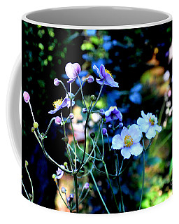 Japanese Anemone In The Afternoon Light Coffee Mug